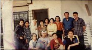 Bersama Orangtua yang anaknya korban narkoba di Malaysia